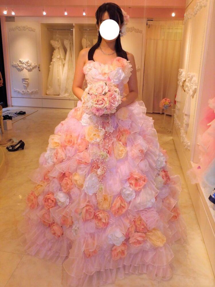 THE HANY(ザ・ハニー)カラードレス