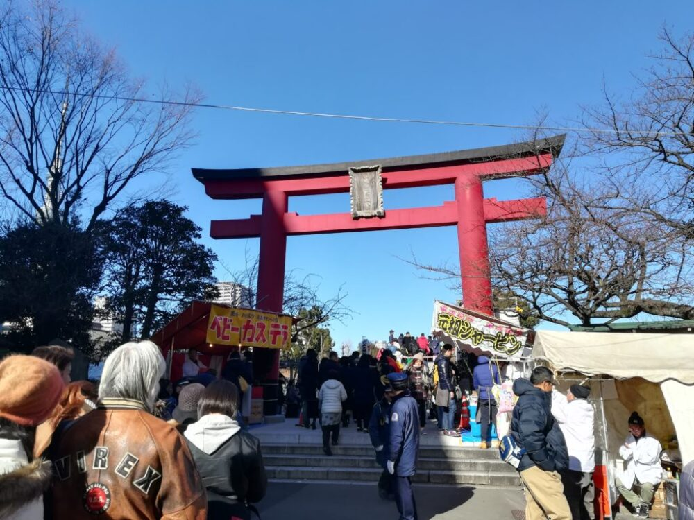 亀戸天神社・初詣